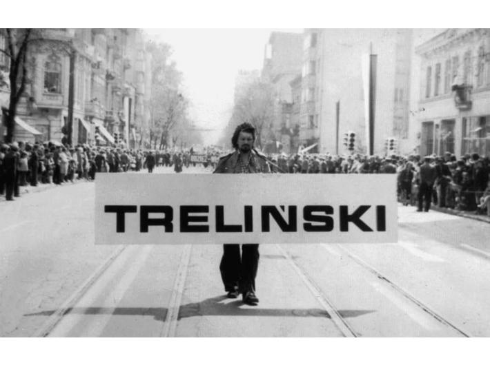 //Pochód pierwszomajowy// Łódź 1974 z archiwum artysty