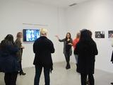 //Beuys, Kantor, Demarco// Oprowadzanie po wystawie i warsztaty dla HBK Braunschweig, Spotkanie wokół wystawy //Beuys Kantor Demarco// dla HBK Braunschweig, 21.11.2015, fot. Dział Edukacji