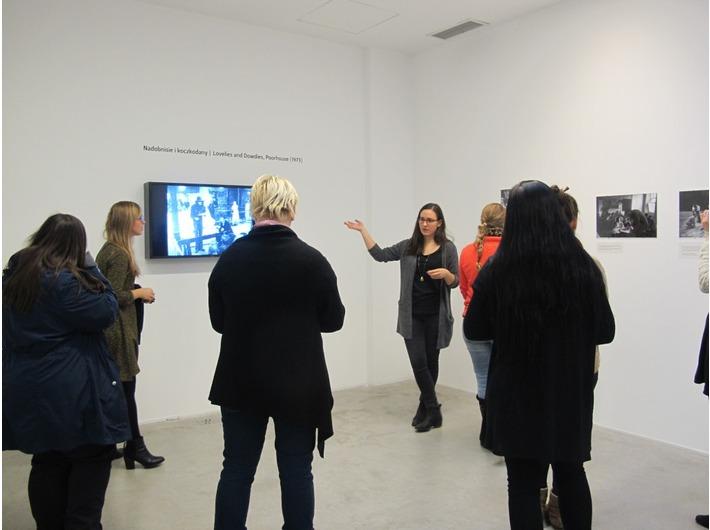 Spotkanie wokół wystawy //Beuys Kantor Demarco// dla HBK Braunschweig, 21.11.2015, fot. Dział Edukacji
