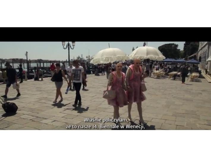Kadr z filmu //EVA & ADELE. GESAMTKUNSTWERK//, 2015, 25 min