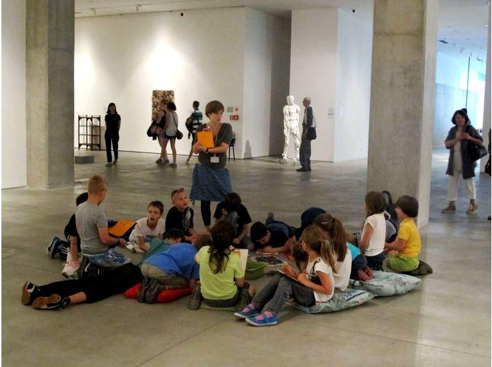 Warsztaty edukacyjne, wystawa Kolekcji MOCAK-u