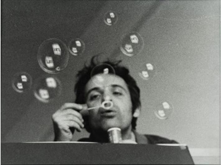 """Géza Perneczky, """"//art//"""", 1972, photography, 30,5 × 40,5 cm"""