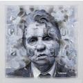 Vladimir Potapov, //Bacon//, 2014, oil/ plexi