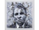 Vladimir Potapov, //Bacon//, 2014, oil/ plexi1