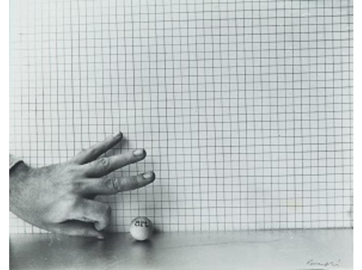 "Géza Perneczky, zserii ""Art-ball (concepts like commentary)"", 1971–1972, Kolekcja MOCAK-u"