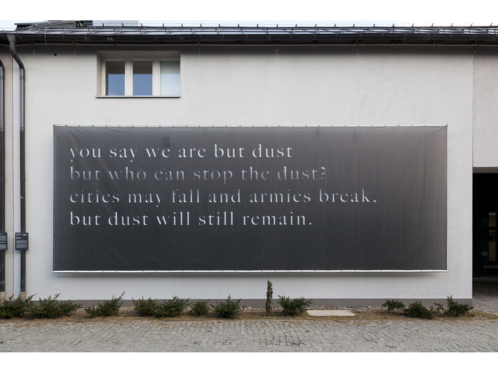 Mariam Ghani, //My – tylko pył i nic więcej…//, 2014