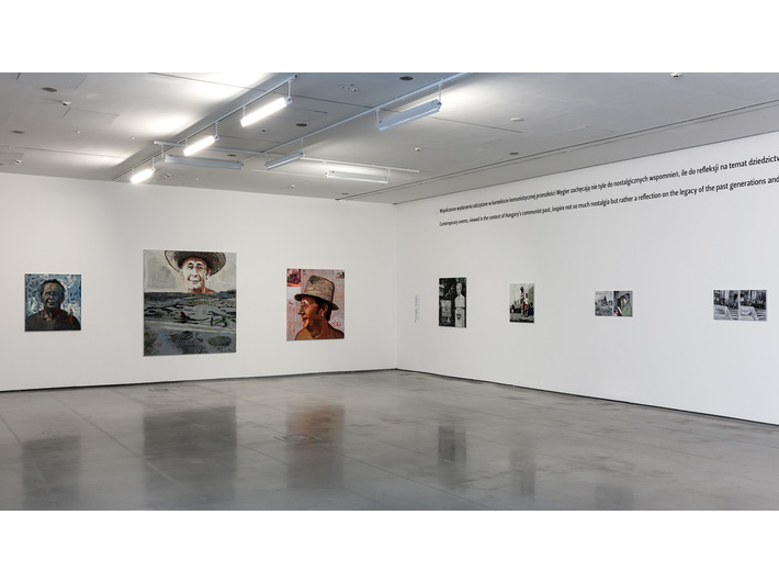 Exhibition view in MOCAK, Csaba Nemes //When Politics Enters Daily Life//