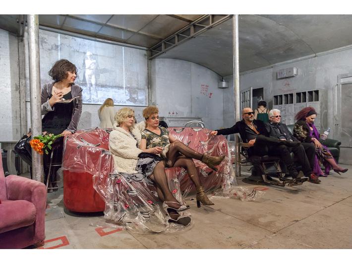 Otwarcie //Live Factory 2: Warhol by Lupa//, 14.3.2016, Muzeum Sztuki Współczesnej w Krakowie MOCAK, fot. Adam Uryniak