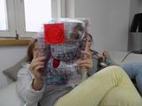 Warsztaty //Emocjonalny autoportret// dla dzieci ze Stowarzyszenia Parasol, 23.3.2016, Biblioteka MOCAK-u