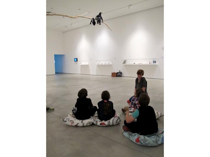Warsztaty //Modna Kolekcja//, z cyklu //Twórcza Kolekcja//, 21.6.2015, wystawa Kolekcji MOCAK-u