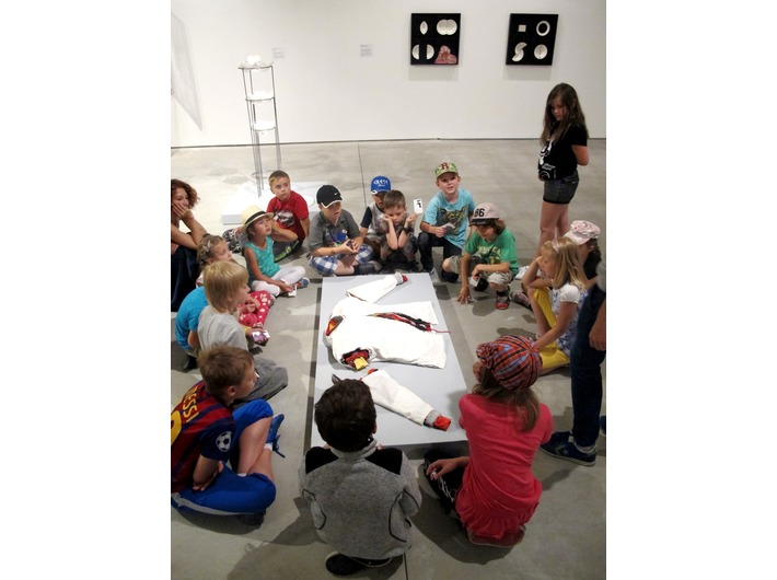 Educational workshops, MOCAK Collection exhibition