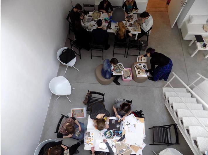 Warsztaty edukacyjne, Biblioteka MOCAK