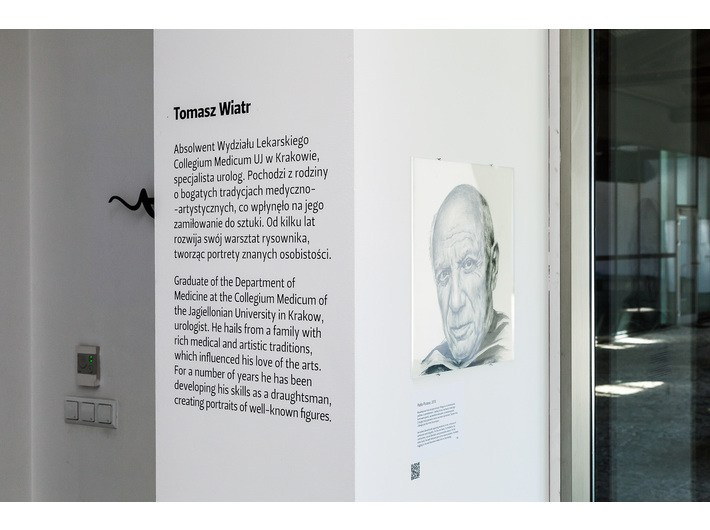 Tomasz Wiatr //Looking for Yourself in Others//, MOCAK Library, photo: Rafał Sosin