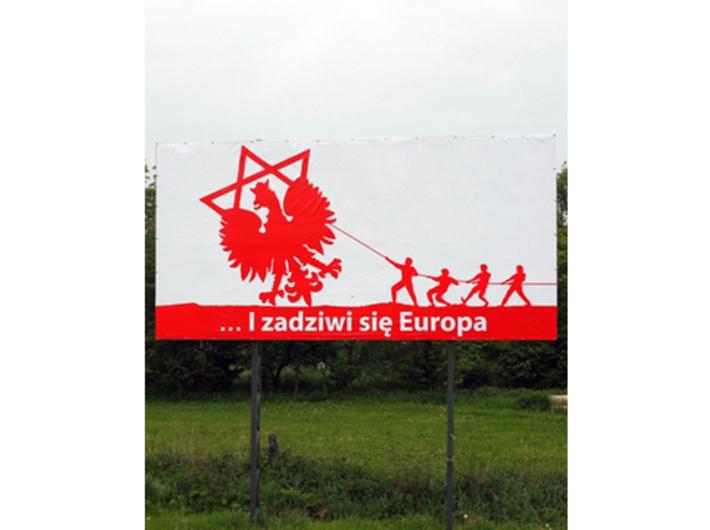 Yael Bartana, //...I zadziwi się Europa//, fot. Natalia Szczech