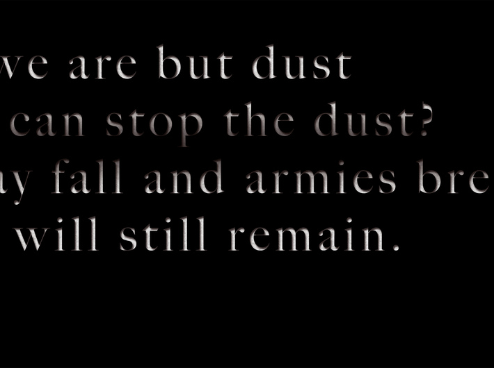 Mariam Ghani,// You say we are but dust…//, 2014