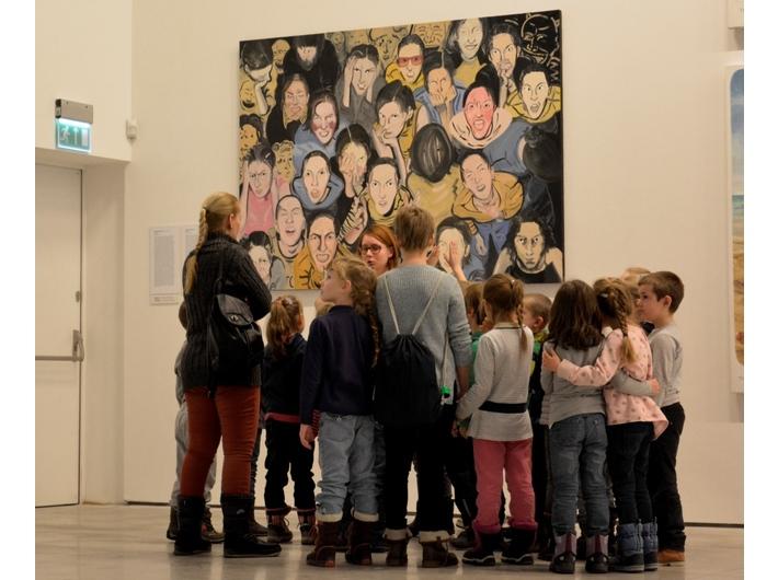 Wasztaty edukacyjne dla dzieci, MOCAK, widoczna praca Poli Dwurnik //Litości//, 2008/2009, Kolekcja MOCAK-u