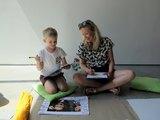 Maj 2016, Warsztaty dla dzieci //Popatrz na mnie!// z cyklu //Sto lekcji o Kolekcji//, 29.5.2016