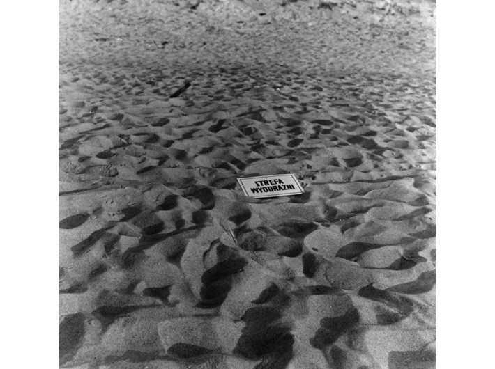 Jarosław Kozłowski, //Strefa wyobraźni//, 1970, fotografia, 17,5 × 16 cm, courtesy J. Kozłowski