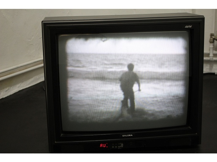 David Horvitz, //Nowo odkryty film Basa Jana Adera//, 2006, wideo, courtesy D. Horvitz & Chert, Berlin