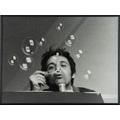 Géza Perneczky, z cyklu //Concepts like commentary//, 1972, fotografia © Géza Perneczky