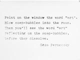 Géza Perneczky, z cyklu //Concepts like commentary//, 1972, fotografia © Géza Perneczky2
