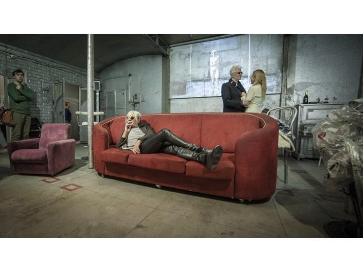 Otwarcie //Live Factory 2: Warhol by Lupa//, 14.3.2016, fot. Adam Uryniak