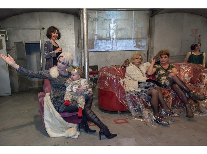 Otwarcie //Live Factory 2: Warhol by Lupa//, 14.3.2016, fot. Rafał Sosin