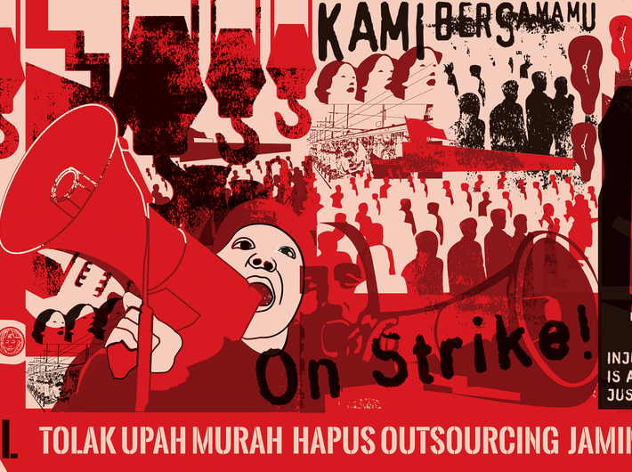 Nobodycorp. Internationale Unlimited, //Mogok Nasional (General Strike)//, 2014