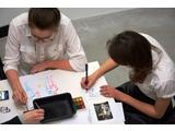 """Warsztaty """"Kolejne pokolenia"""",  27.2.2016, Biblioteka MOCAK-u, fot. Dział Edukacji"""