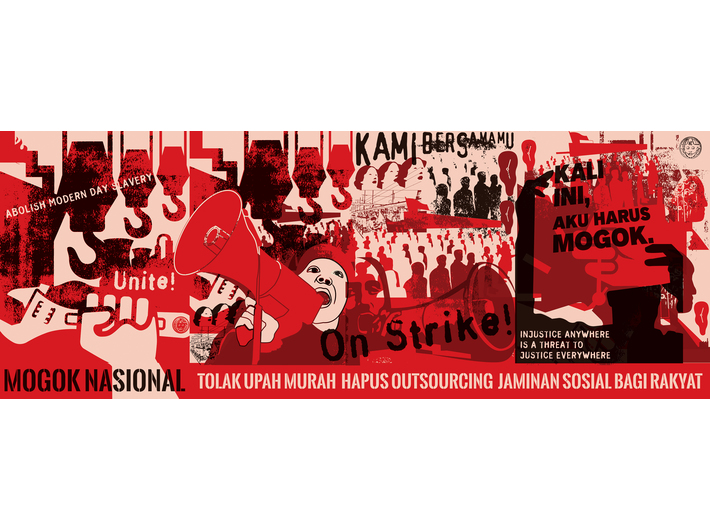 Nobodycorp. Internationale Unlimited, //Mogok Nasional (Strajk generalny)//, 2014