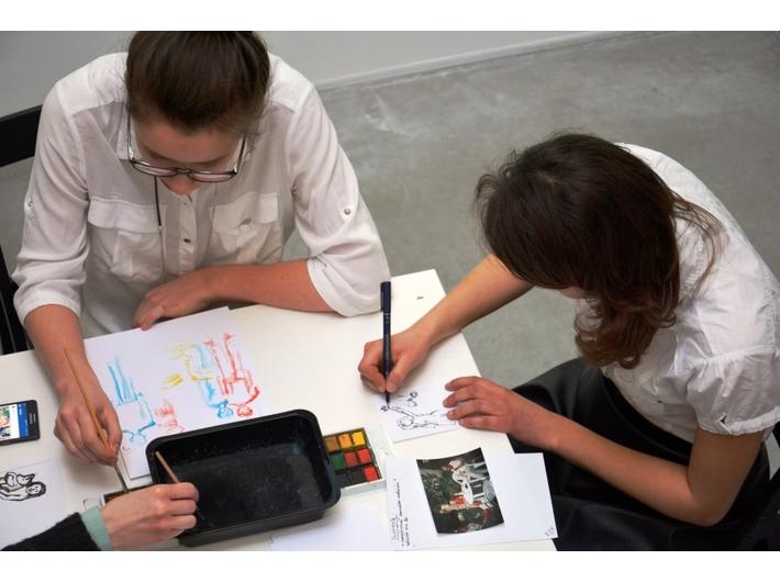 Educational workshops, MOCAK Library