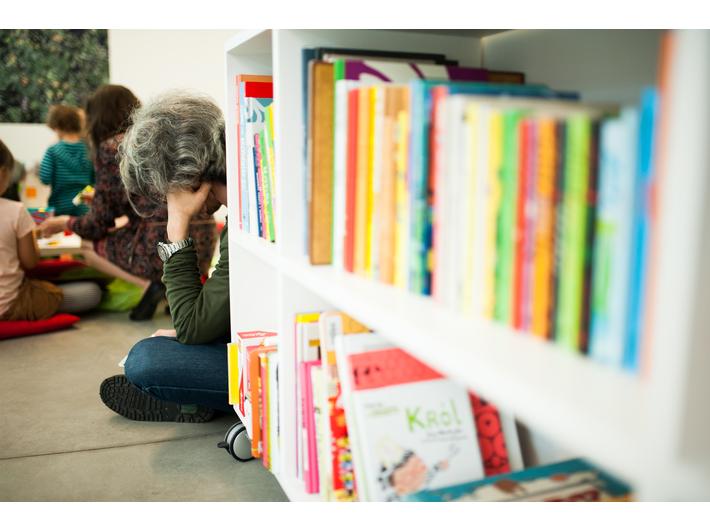 Biblioteka MOCAK-u, fot. Marcin Świdziński