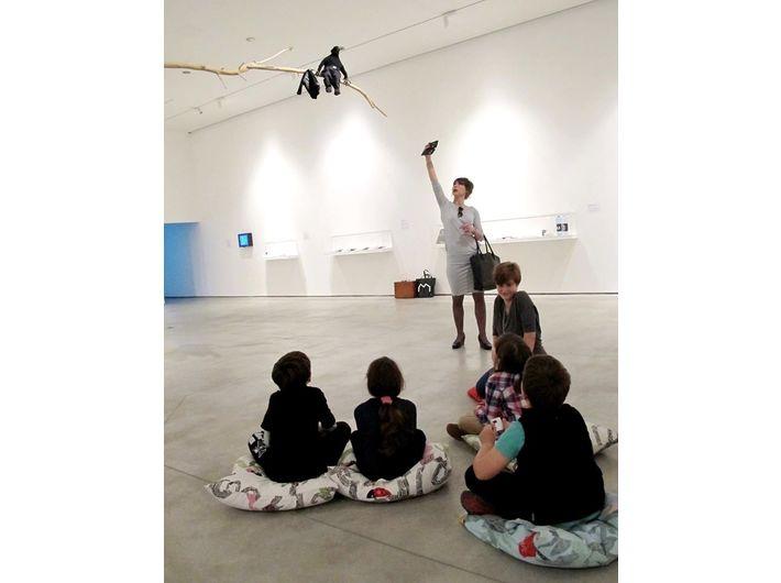 Warsztaty dla dzieci, wystawa Kolekcji MOCAK-u