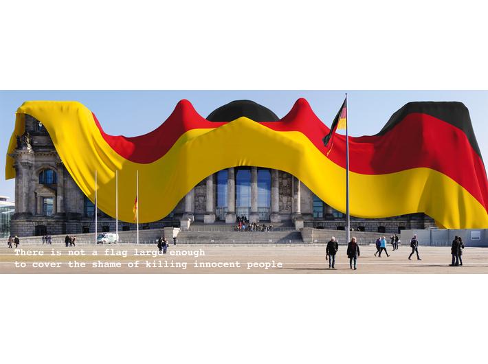 Oliver Ressler, //Nie ma tak wielkiej flagi//, 2015