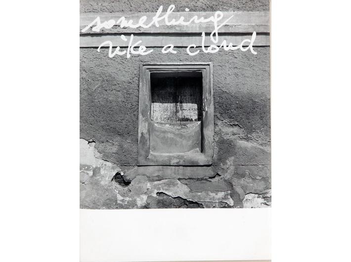 Jiří Valoch, fotografia, z cyklu //Obserwując krajobraz//, 1974, Kolekcja MOCAK-u