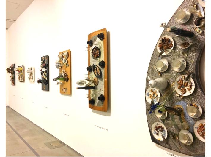 Wystawa Daniela Spoerriego //Sztuka wyjęta z codzienności//