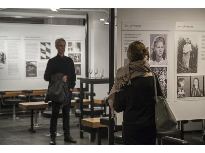 Wystawa // Zofia Posmysz. Auschwitz a literatura//, Musiktheater im Revier Gelsenkirchen, fot. A. Uryniak