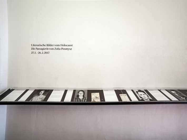 Wystawa //Literackie obrazy Zagłady. Pasażerka Zofii Posmysz//, Centrum Sztuk Prześladowanych przy Muzeum Sztuki w Solingen, fot. A. Uryniak