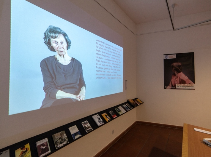 //Literary Images of the Holocaust: The Passenger by Zofia Posmysz// exhibition, Center for Persecuted Arts in Art Museum in Solingen, photo: Adam Uryniak