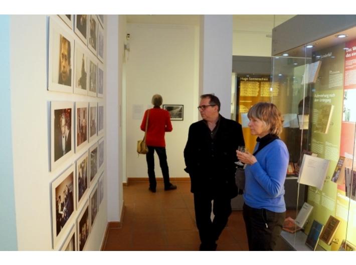 //Ryszard Krynicki. Sehen wir uns noch?// exhibition, photo: Judith Schoenwiesner