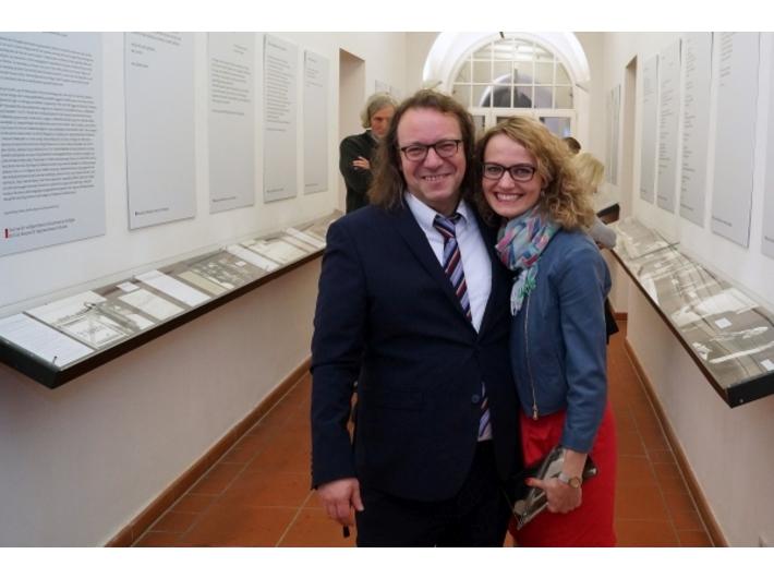 Wystawa //Ryszard Krynicki. Sehen wir uns noch?//, fot. Judith Schoenwiesner