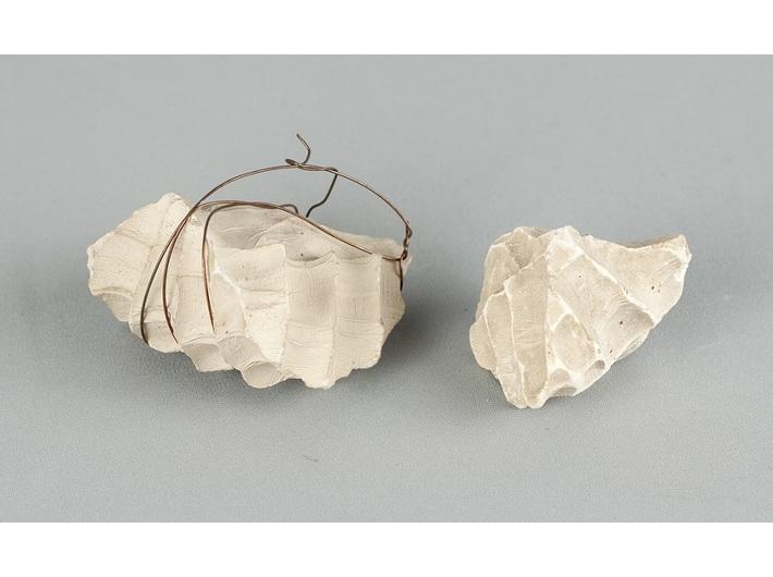 Zbigniew Warpechowski, //10 minut//, 1973, obiekty z performansu, 8 × 3 cm, 3 × 3,5 cm, Archiwum MOCAK-u