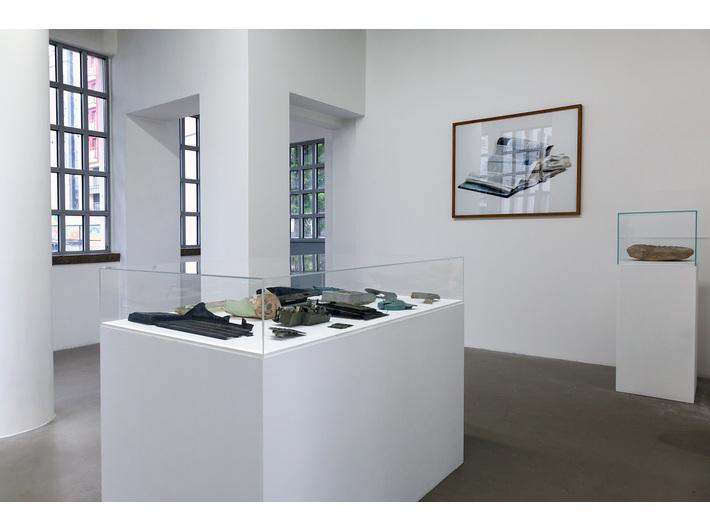 Widok wystawy //Liban i Płaszów – nowa archeologia//, fot. R. Sosin