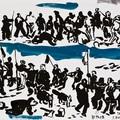 Edward Dwurnik, //Rysunki do obrazu Bitwa pod Grunwaldem//, 2010, akwarela, ołówek, tusz / papier, 46 × 65 cm każdy 650