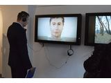 //MOCAK Collection at the MBWA in Leszno//, courtesy of MBWa Leszno | Shahar Marcus, //The Boxer//, video, 2008 and Łukasz Surowiec, //Berlin-Birkenau//, video, 201212