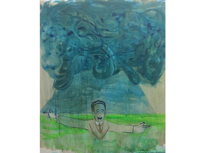//Obserwacja na odległość//, 2017, wideo, 11 części, 51 min, reżyseria: Miri Segal, produkcja: Program Magisterski na Wydziale Sztuki Hamidrasha Beit Berl College, część 1: Gadi Kozich, //Kilka słów Pana Szimona Peresa na temat współczesnego malarstwa//
