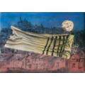 Jonasz Stern, //Kałusz w roku 1942//, 1988, technika mieszana, 50 × 70 cm, kolekcja prywatna667