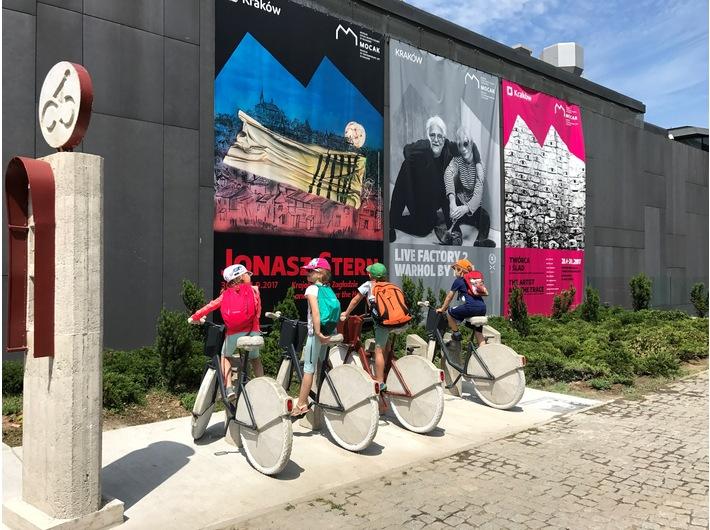 Leopold Kessler, //Surrogate City Bike Station / MOCAK 2015//, Kolekcja MOCAK-u
