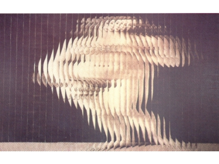Jiří Kolář, //Wenus (Boticelli)//, 1968–1969, prolaż
