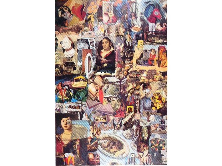 Jiří Kolář, //Untitled//, 1960s, collage